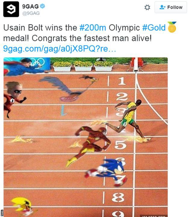meme Usain Bolt 9gag