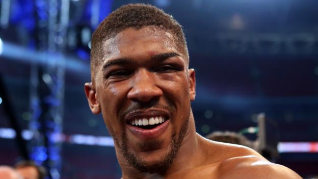 See how Anthony Joshua transformed Wembley in time lapse