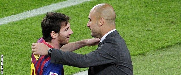 Tidak ada Klub lain yang bisa menggoda Messi selain City