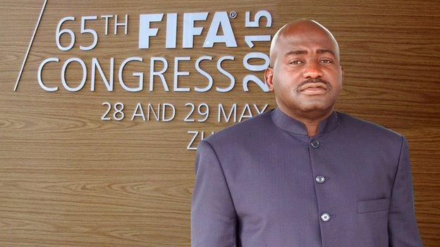 Musa Bility: Liberia FA boss to stand for Fifa presidency - BBC Sport