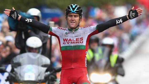 Games road race champion will not defend title bbc sport