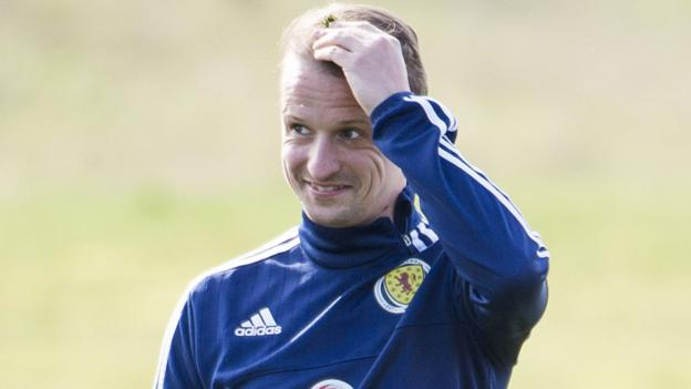 Scotland v Slovenia: Leigh Griffiths 'rusty' but ready to chase first international goal