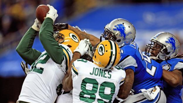 NFL: Green Bay beat Detroit with incredible last-gasp touchdown ...
