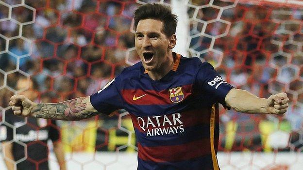 Atletico Madrid 1-2 Barcelona - BBC Sport
