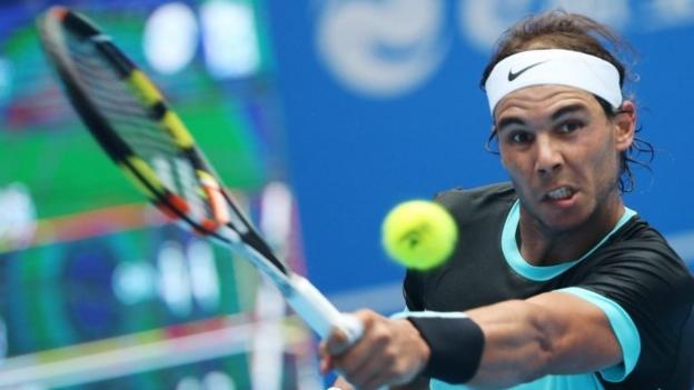 China Open: Rafael Nadal beats wildcard Wu Di in Beijing - BBC Sport