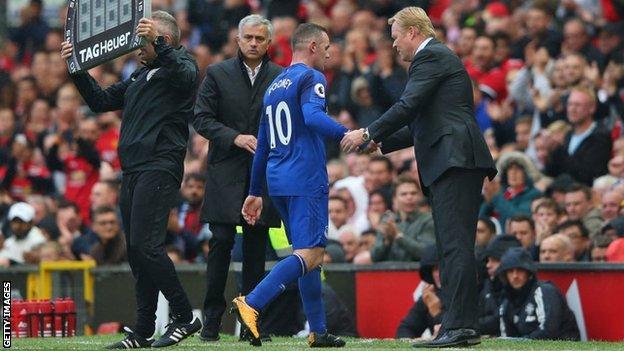 Mourinho's Everton top-four comments unrealistic - Koeman
