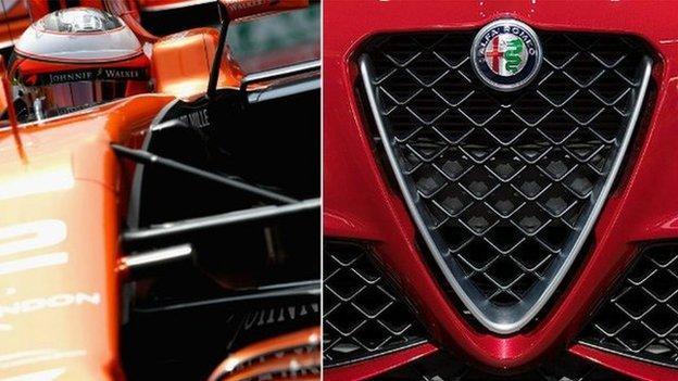 McLaren Alfa Romeo