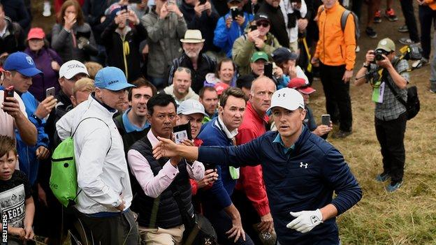 Spieth holds off Kuchar to win The Open - report & video
