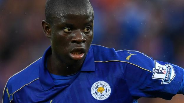 N'Golo Kante moves to Chelsea from champions Leicester