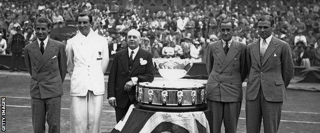 Great Britain's last Davis Cup winning team