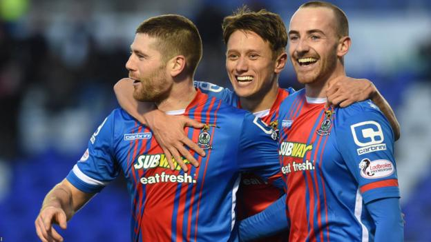 Inverness CT 2-1 Kilmarnock - BBC Sport