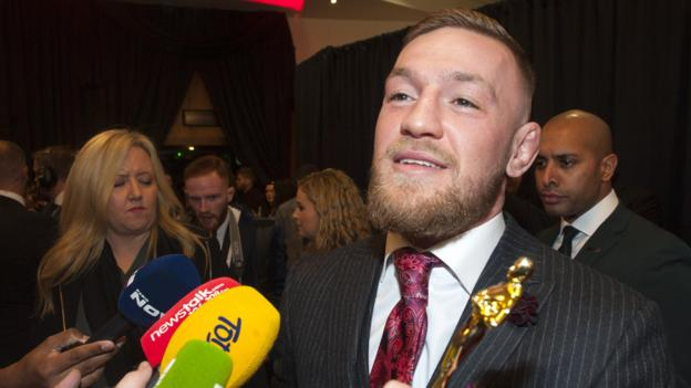 Conor McGregor: UFC champion apologises for Dublin behaviour but blames referee