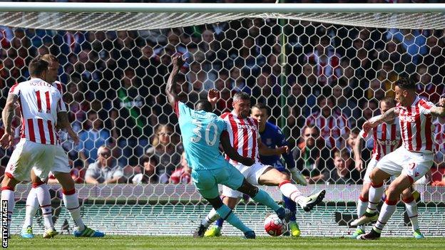 ไฮไลท์  Stoke City 2 - 1 West Ham United