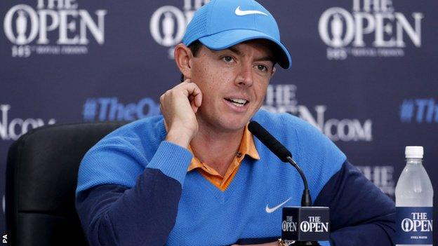 Rio 2016: Rory McIlroy comments unacceptable - Laura Massaro