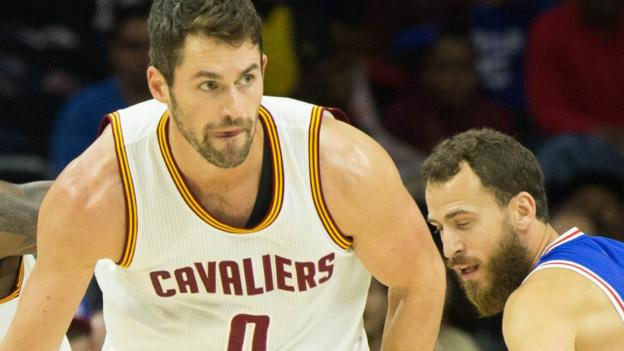 c0a9a7d3c4a Kevin Love set an NBA record by scoring 34 first-quarter points as  Cleveland Cavaliers beat Portland 137-125. The 28-year-old three-time All  Star s tally ...