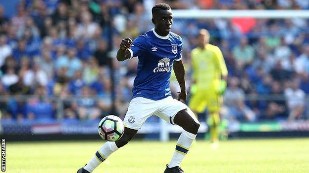 New Everton signing Idrissa Gana