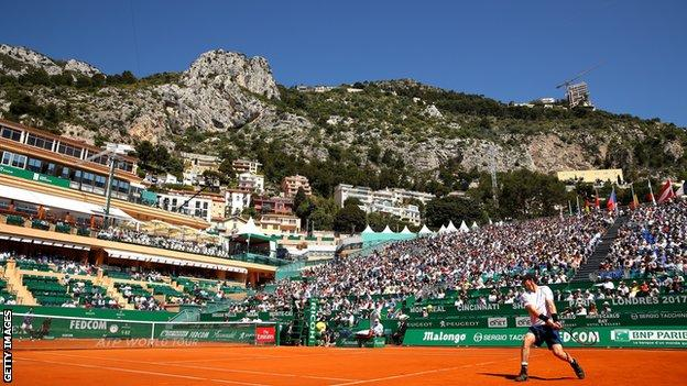 Murray loses to Ramos-Vinolas at Monte Carlo Masters