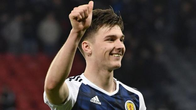 World Cup 2018: Celtic's Kieran Tierney prepared to fill Scotland's right-back void