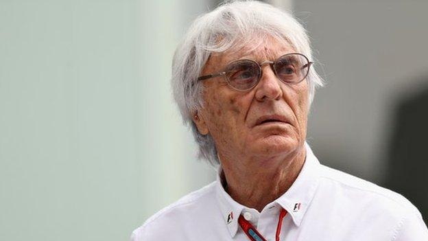 bbc.co.uk - Bernie Ecclestone: F1 chief executive 'forced out' of role, says report