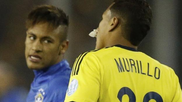 Copa America: Brazil forward Neymar out of tournament - BBC Sport