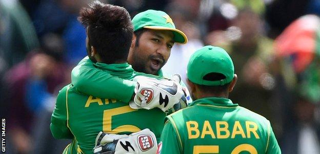 Pakistan reached their first 50-over global final since 1999