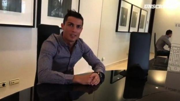 Real Madrid star Cristiano Ronaldo gives grand tour of his home ...