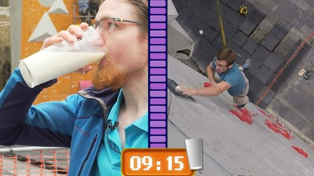 Climbing World Cup: Will Bosi can climb a wall quicker than you can drink a pint of milk