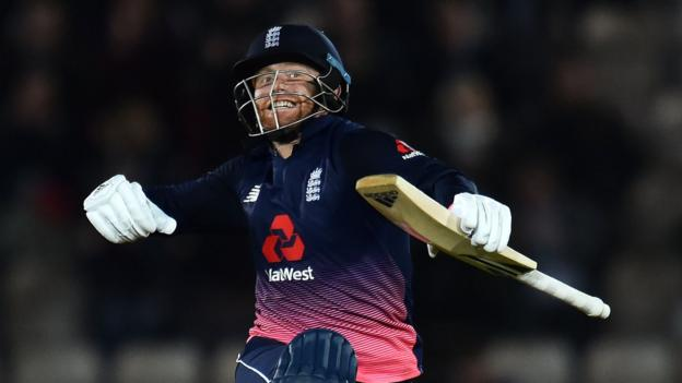 Bairstow's ton helps England to 4-0 series win - report & highlights