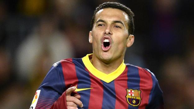 Pedro: Chelsea sign Spain forward from Barcelona - BBC Sport