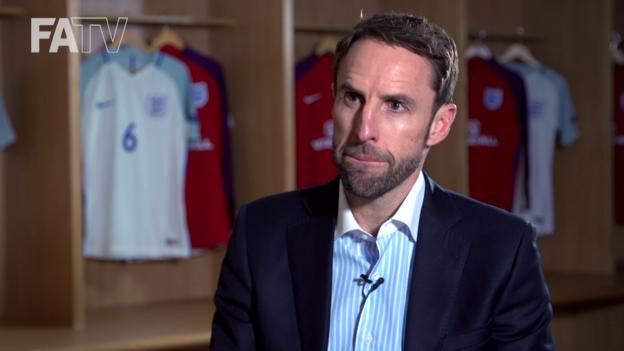 Gareth Southgate 'immensely proud' to be England boss
