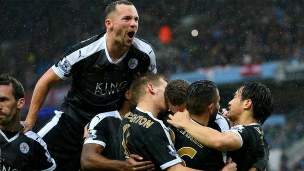 Manchester City 1-3 Leicester City - BBC Sport