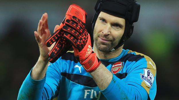 Petr Cech: Arsenal 'can go all the way' to Premier League title - BBC ...