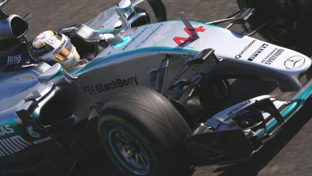 Italian Grand Prix: Mercedes blame tyre 'procedure' for issues - BBC ...