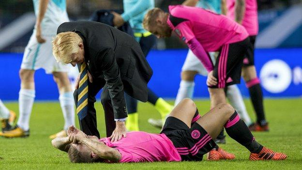 Former Scotland manager Gordon Strachan