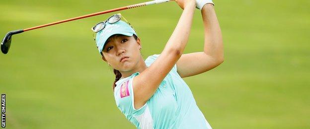 South Korea golfer Lydia Ko