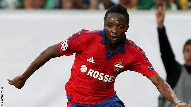 Ahmed Musa: CSKA Moscow reject improved Leicester bid - BBC ...