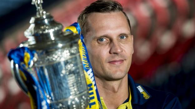 Rangers: Peter Lovenkrands says players' focus should be on reaching final