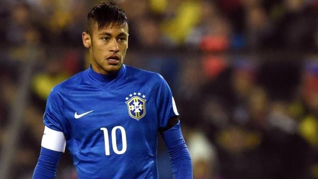 Neymar: Brazil striker banned for Copa America - BBC Sport