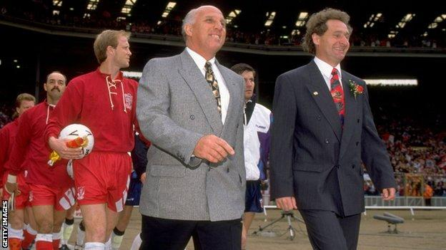 Moran led Liverpool out when they beat Sunderland in the 1992 FA Cup final at Wembley