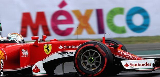 Sebastian Vettel, Mexican Grand Prix