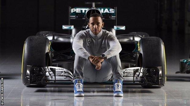 Lewis Hamilton on twitter
