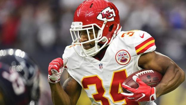 NFL play-offs: Watch Knile Davis' incredible touchdown from kick-off ...
