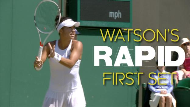 Watch: Quick-fire Watson wins set in 19 minutes