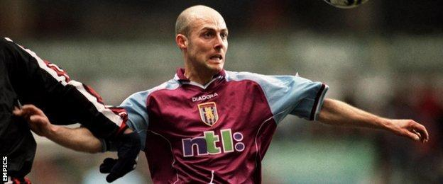 Alan Wright went on to make 334 appearances for Villa after being signed from Blackburn Rovers by Brian Little in March 1995