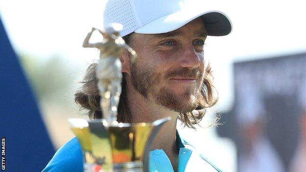 Fleetwood pips Rose to Race to Dubai title as Rahm wins Tour Championship
