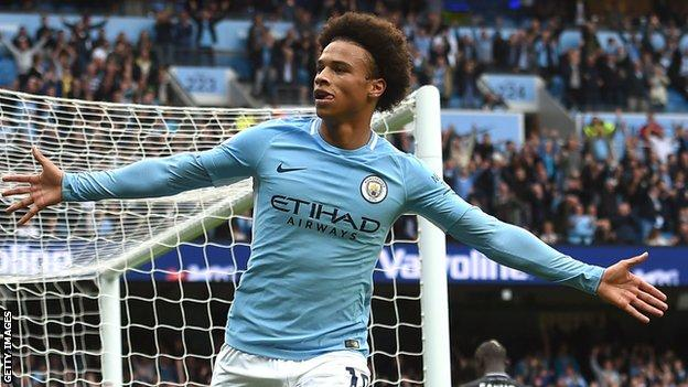Leroy Sane is man of the match