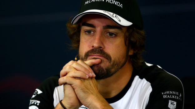 Fernando Alonso 'on economy mode' to be strong in 2016 - BBC Sport