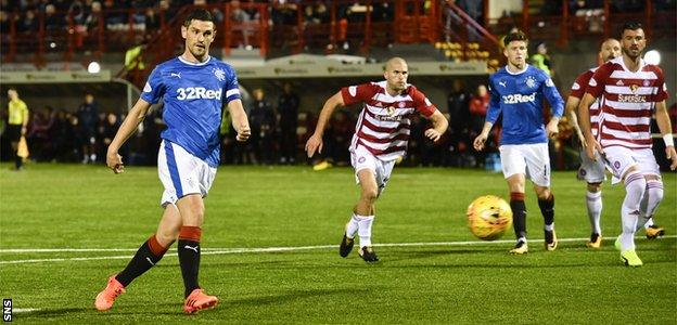 Rangers fight back to beat Hamilton - highlights & report