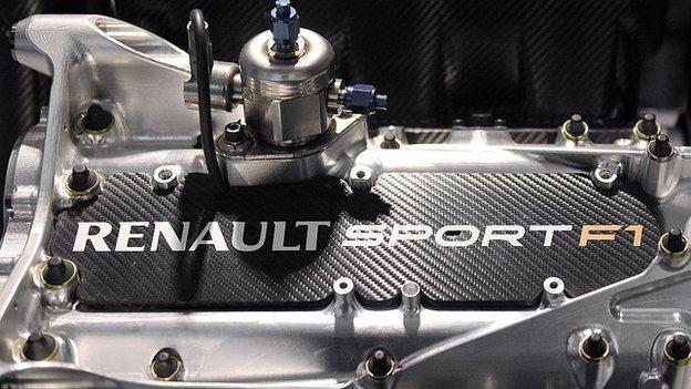 Formula 1: Renault not expecting 'fantastic results' in 2016 - BBC Sport