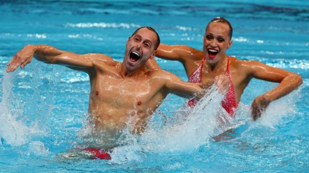 men in synchronized swimming essay Access official olympic synchronized swimming sport and athlete records, events, results, photos, videos, news and more.
